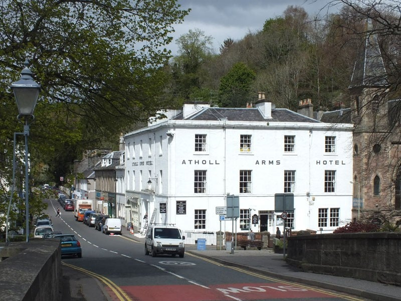 10% off Atholl Arms Hotel